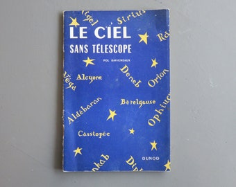 Sky Without Telescope and 3 Cards - Pol Ravigneaux - 1954