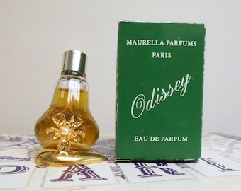 Odissey eau de parfum by Maurella Parfums, 8 ml miniature splash bottle, new in box.