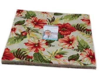 Collection for a cause Sunshine cotton layer cake by Howard Marcus for Moda Fabric