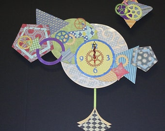 Geometric Pendulum Wall Clock