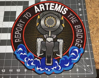 Artemis Motorcycle Patch!