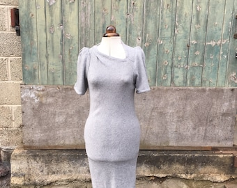 Knitted Wool Dress