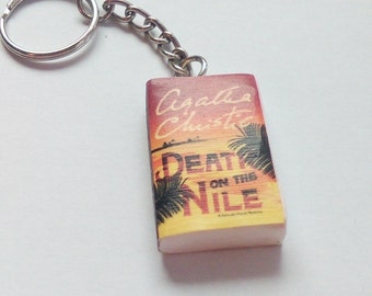 Agatha Christie - Death on the Nile - Key ring / Key chain