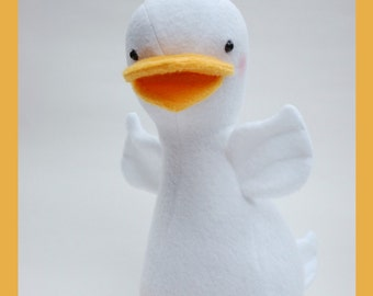 Duck - PDF sewing pattern with easy instructions and step-by-step photos
