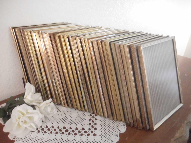 Vintage Gold Rahmen 8 x 10 rustikalen Hollywood Regency Paris