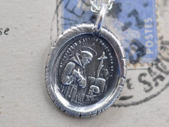 Saint francis of assisimedal pendant st francis of assisi aloadofball Choice Image