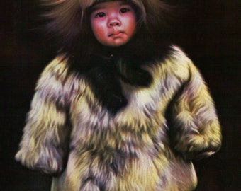 Little Children of the North by Miguel Vintage Postcard