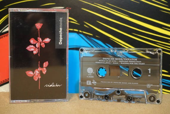 Violator by Depeche Mode Vintage Cassette Tape