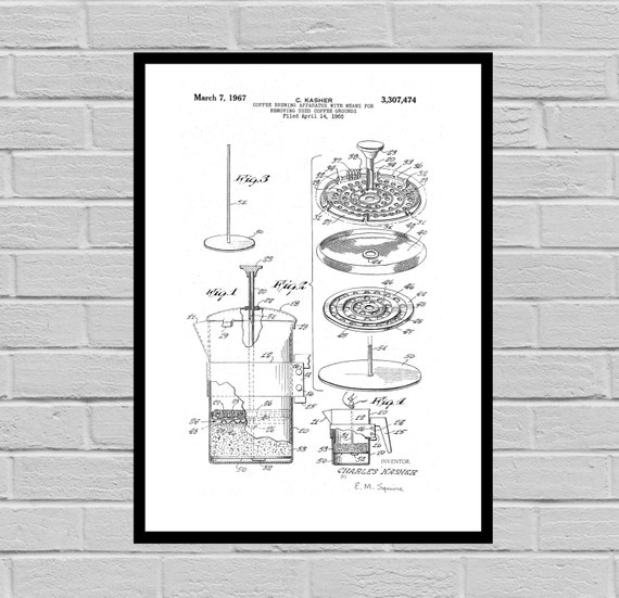 Inventions stanleyprinthouse coffee related patent coffee percolator coffee art coffee poster coffee grinder patent malvernweather Choice Image