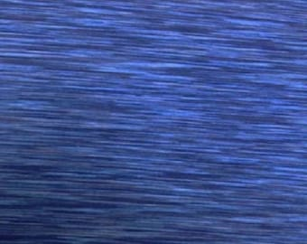 Space dye performace fabric Polyester/Spandex - Blue/Royal 150cm wide x 25cm