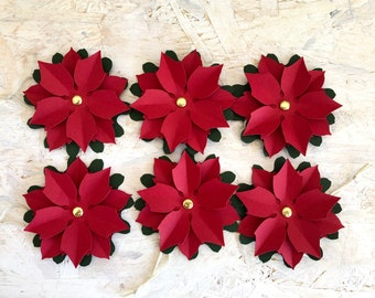 12 pcs-Christmas star paper decoration holiday hanging towel holder