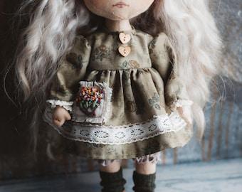 Handmade doll Alisa