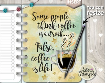 60%OFF - Planner Insert, Printable Planner Insert, Planner Divider, Planner Quotes, Planner Dashboard, Kawaii Planner, Divider, Coffee