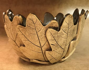 Small Oak Leaf Bowl 162