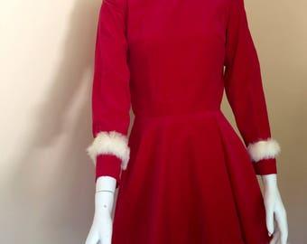1960's Holiday Dress