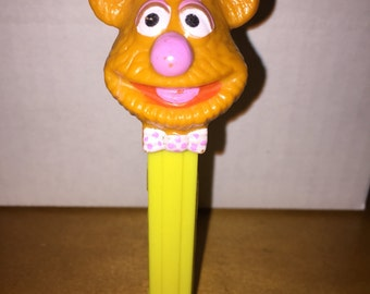 Vintage 1990 Muppets Fozzie Bear Pez Dispenser