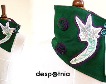 Green Fairy Scarf - Collar