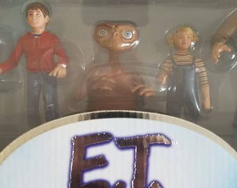 limited edition E.T. movie figure collection