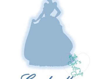 Princess Cinderella Digital Art Printable