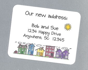 Change of Address Cards - Custom Moving Cards, New Address Cards, New Home Cards, New House Cards, We're Moving Cards, New Apartment Cards