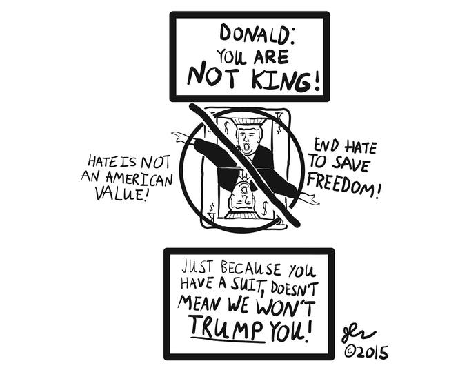 Stop Donald Trump Stop Trump Anti-Trump Anti-Donald Trump Shirt Anti-Fascism Anti-Racism Pro-Feminist Democrat Political Crust Punk Shirts