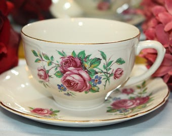 ROYAL ART POTTERY Teacup and Saucer set