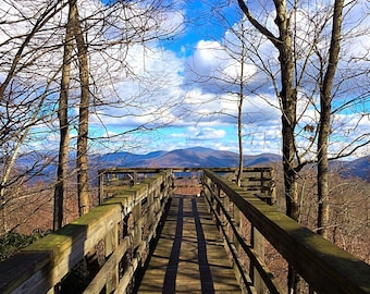 Blue Ridge Overlook, Winter