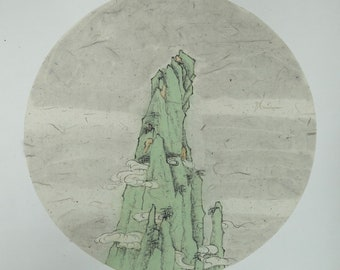 6~10 Chinese tranditional Ink painting