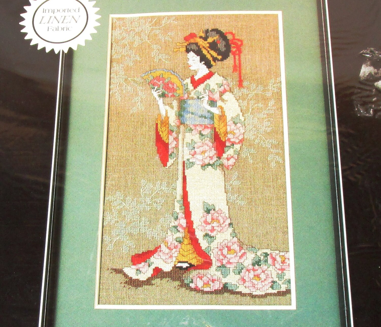 Dimensions MAY LING Counted Cross Stitch Picture wall Hanging Kit ...