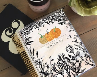 Original Stylish Planner™ Cover Set - Halloween Pumpkin: For use with Erin Condren Life Planner(TM), Happy Planner and Recollections Planner