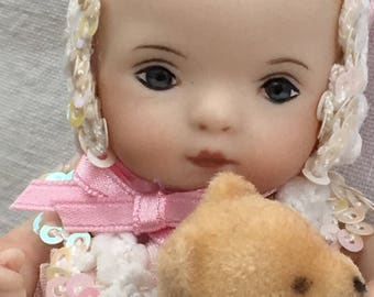 "Miniature Baby Doll ""Toddler Sweetie"""