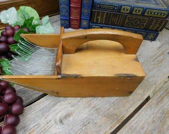 Vintage Cranberry Harvester Scoop - Cranberry Scoop