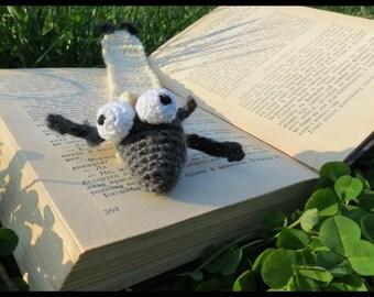 Bookmark, Crochet Bookmark, Handmade by 100% wool