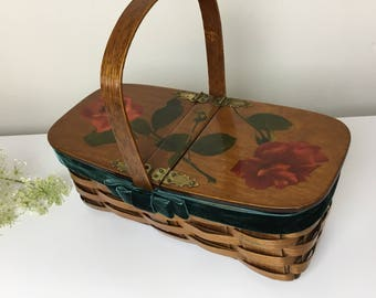 1967 Rose Basket Handbag