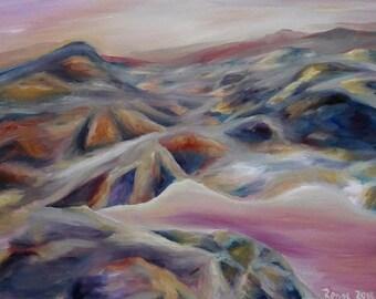 Purple Dawn Art Print