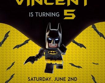 Lego Batman Birthday