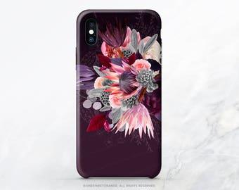 iPhone X Case iPhone 8 Case Protea iPhone 7 Case Floral iPhone 6S Plus Case iPhone 7 Plus Case Samsung S7 Case Samsung S8 Plus Case T55