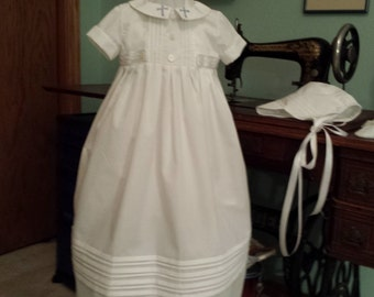 Christening gown for boy
