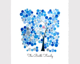 Personalized Typography FAMILY Tree ANNIVERSARY PRINT - wall decor, room decor, art poster, Anniversary, Special Day, Birthday