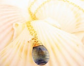 Glacier Blue Natural Gemstone 14Kt