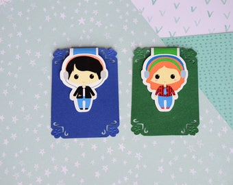 Large magnetic bookmark - Eleanor and Park