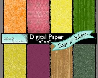 We Are 3 Digital Paper, Best of Autumn