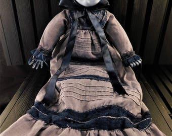 "Amarajaa 15"" OOAK Porcelain Horror Doll"
