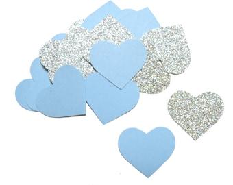 200 confetti heart - two-tone