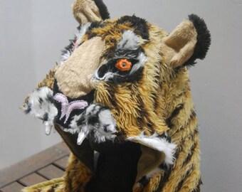 Custom Big Cat Hood , Fierce Kitty Costume *MADE TO ORDER*