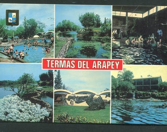 Uruguay Vintage Postcards  / 1 Unused Postcard Uruguay South America/Thermas Del Arapey
