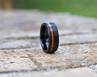 FREE Shipping, Wood Wedding Band, Wooden Ring, Wood Ring, Wood Wedding Ring, Mens Wooden Ring, Mens Ring, Mens Wedding Band, Wood Band, Ring