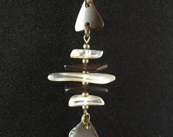 Lake Superior Fish Necklace