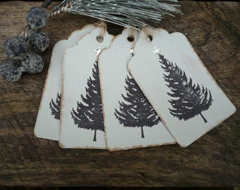 Hand made christmas gift tags, gift labels, gift tags, gift wrap, gift wrapping
