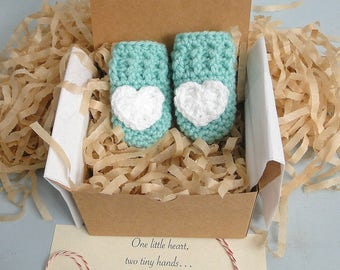 Pregnancy Announcement,  Grandparent Reveal, Gender Neutral, Mittens in a Box™, Daddy Reveal, I love my Daddy,  Thumbless Baby Mittens